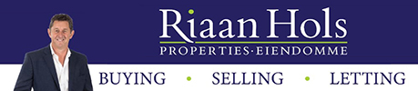 Riaan Hols Properties, Estate Agency Logo